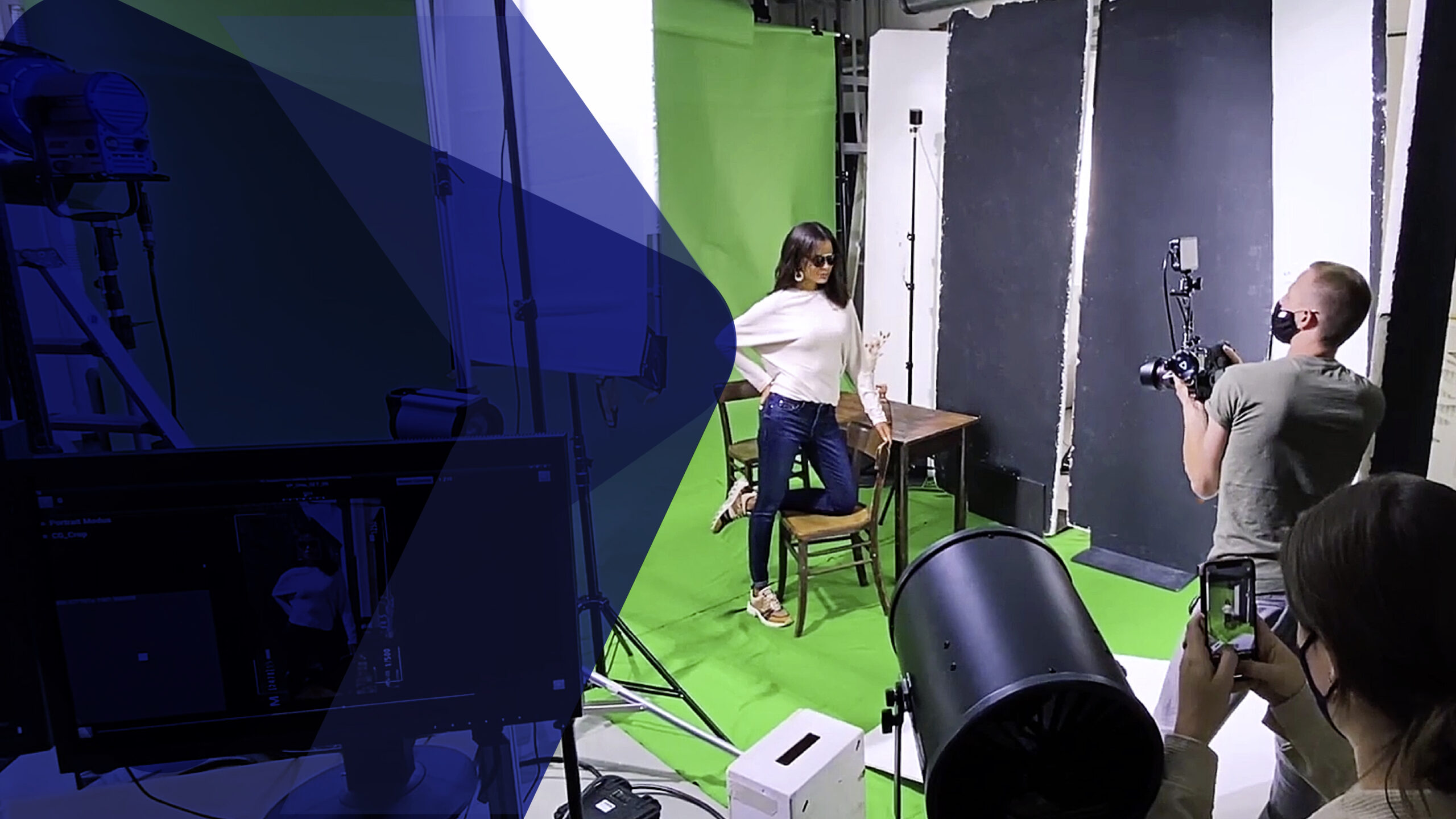 Virtual Studio – Location photoshoots at a new level
