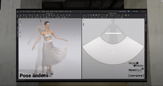 Digitization in the fashion industry is in full swing